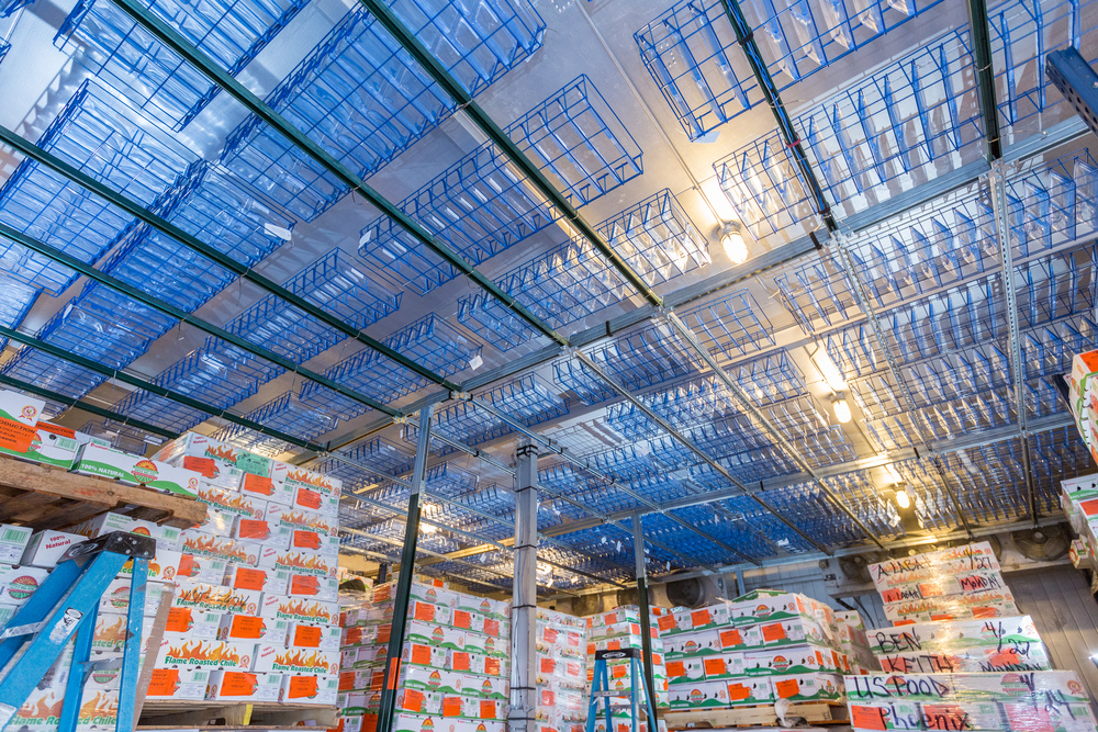 refrigeration in warehouse